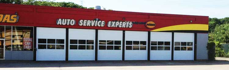 A project we did for Midas Auto Service Experts.